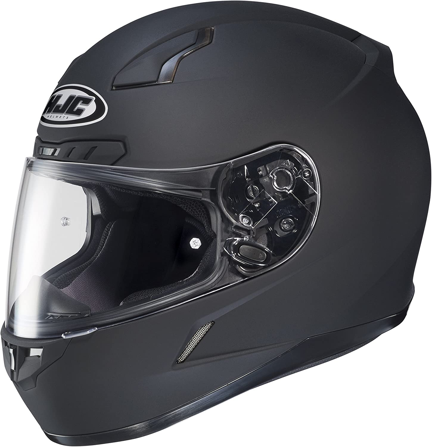 HJC CL-X6 Snowmobile Snow Helmet Black Breathguard//Breathbox