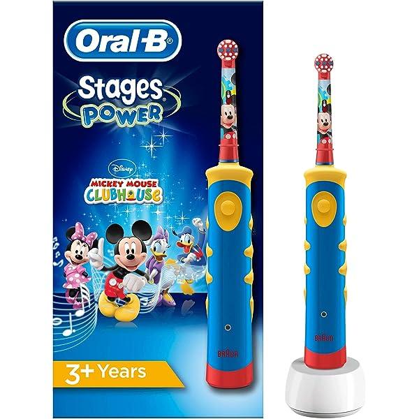 Oral-B Stages Power Kids de Mickey Mouse - Cepillo de dientes ...
