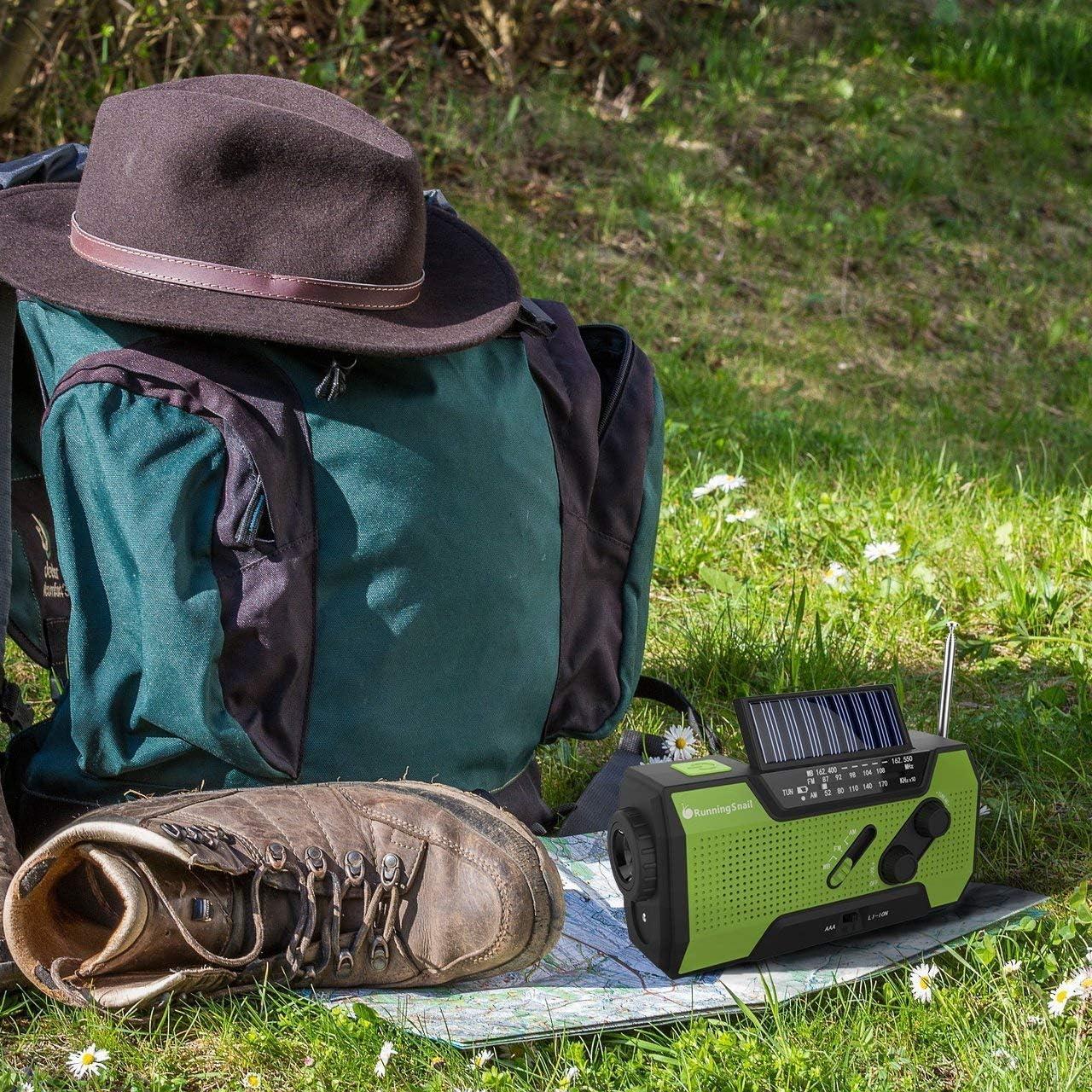 Electronics Portable Audio & Video Flashlight RunningSnail Solar ...