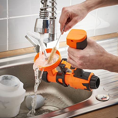 VonHaus Electric is a handheld paint sprayer that has fast, powerful paint application and an unblemished finish