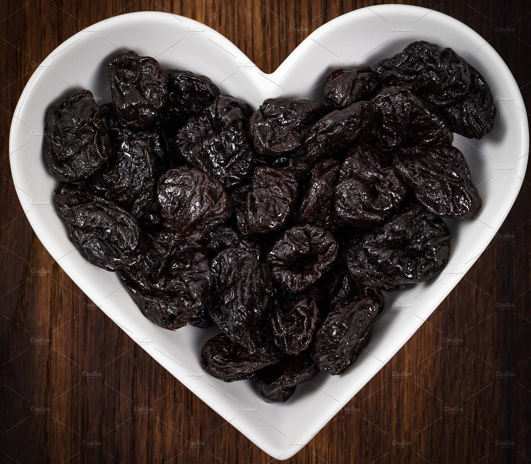 California Grown Dried Pitted Plums Prunes, 2 Bags(1Lb each) 2Lb total by Petrovsky
