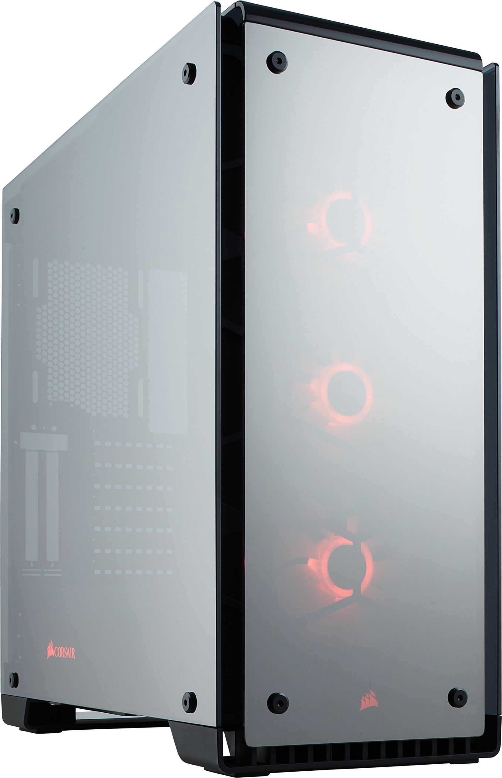 Corsair Crystal Series 570X RGB Mirror Black Tempered Glass Premium ATX Mid Tower Case (CC-9011126-WW)