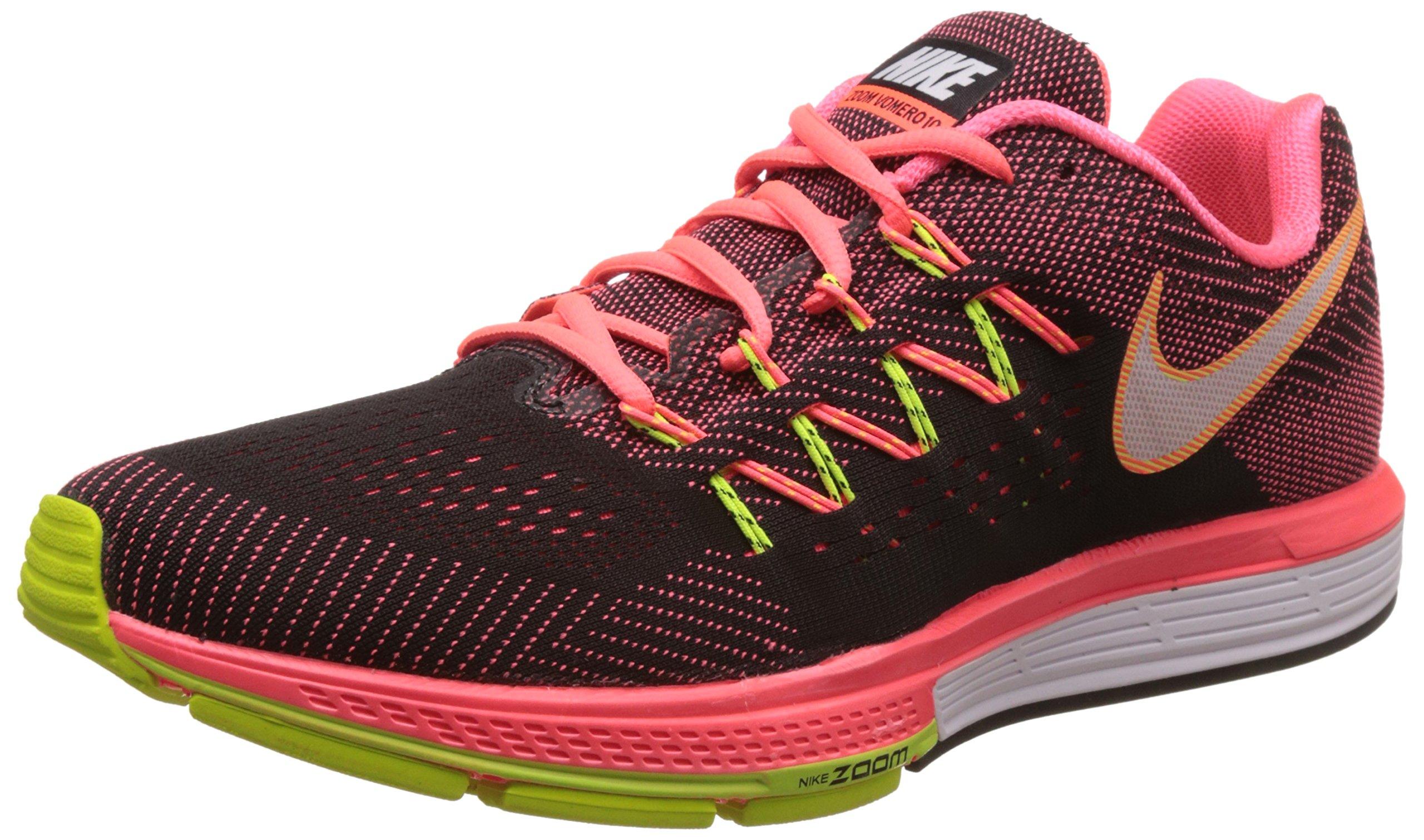 Nike Men's Air Zoom Vomero 10, HOT LAVA/WHITE-BLACK-VOLT, 9 M US