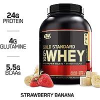 Optimum Nutrition 欧普特蒙 金标乳清蛋白营养粉 草莓香蕉味 5磅(2.27千克)