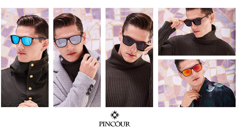 Amazon.com: PINCOUR PK8587 - Gafas de sol polarizadas para ...