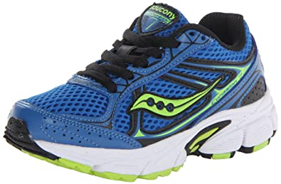 2bd1242f Saucony Boys' Cohesion 7 Lace Running Shoe (Little Kid/Big Kid)