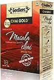 Geebees Chai Gold Instant Premix Masala Tea Sweetened - 140 Grams