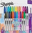 Sharpie Fine Electro Pop Marker, Fine Point, Assorted, 24/Pack (1927350)