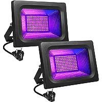Litake Led-uv-blacklight, 30 W, paarse led-spot, schijnwerper, feestlicht, podiumdecoratie, licht, IP65 waterdicht…