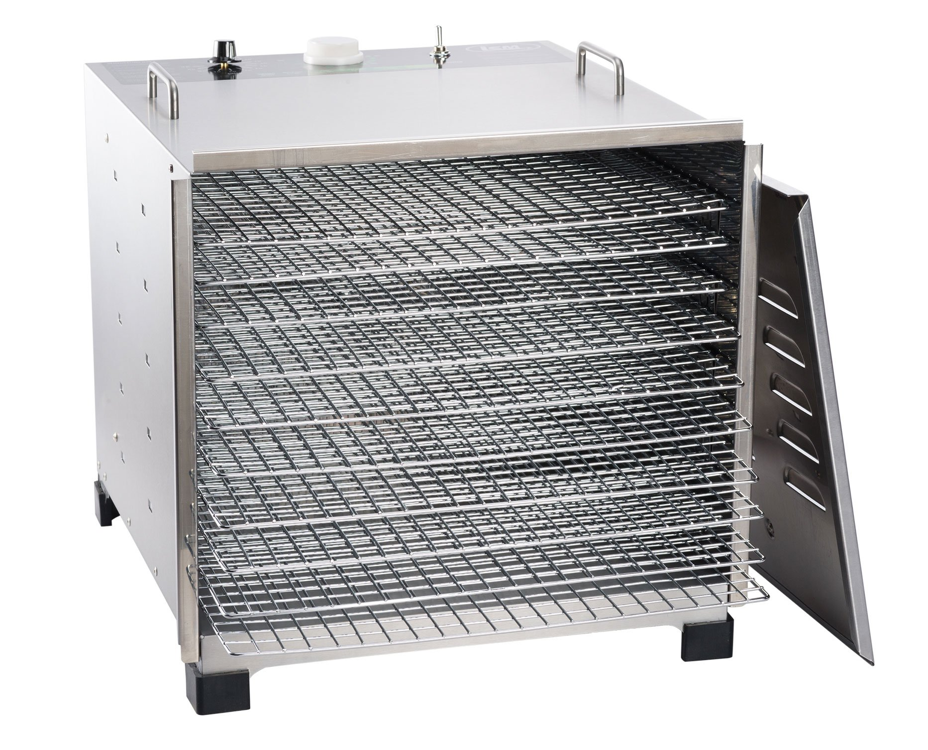 LEM Products 778A Stainless Steel 10 Tray Dehydrator w/ timer by LEM (Image #1)
