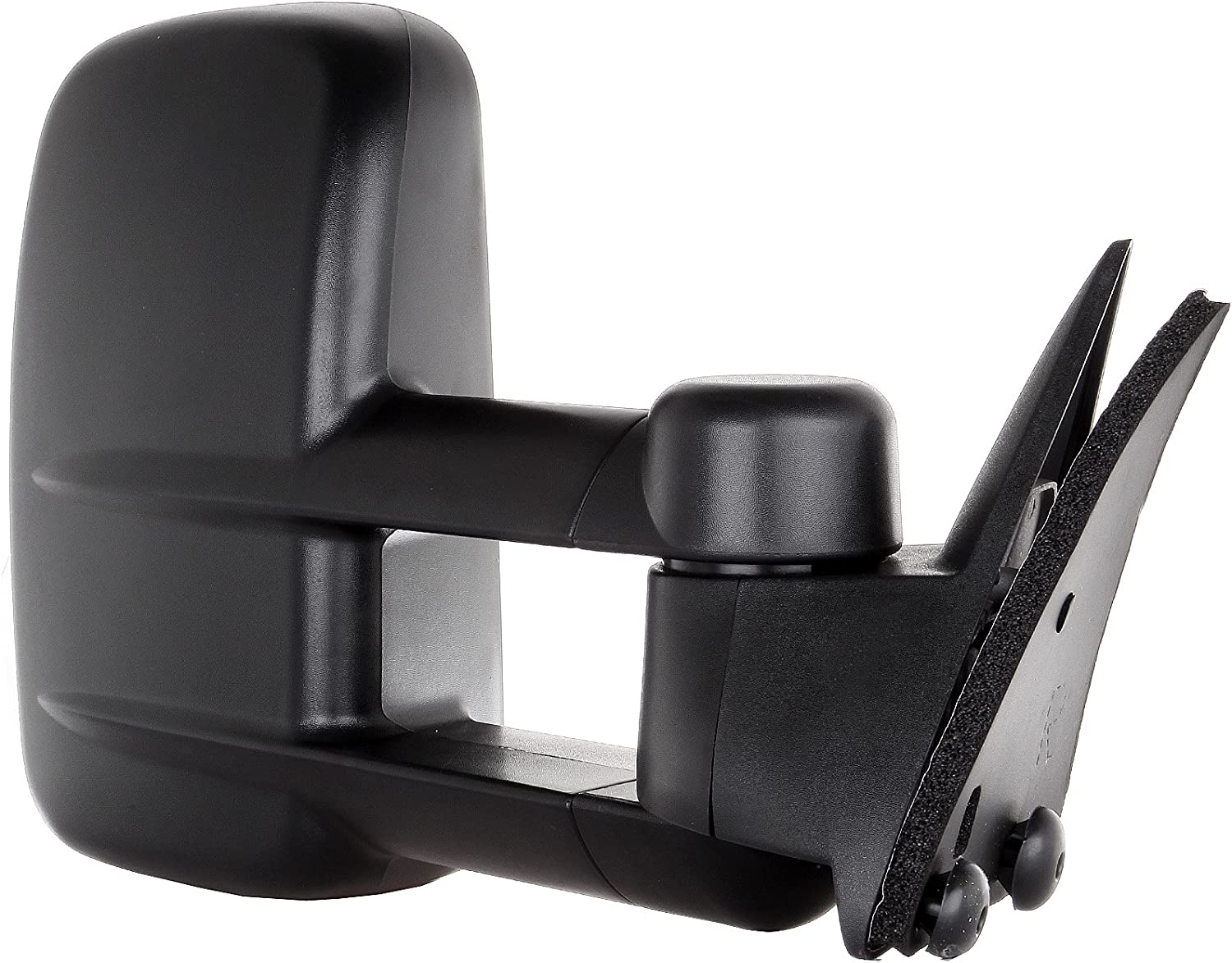 OCPTY Towing Mirrors Manual No Heated Left Driver Right Passenger Side Tow Mirrors Fit for 1988-2001 Chevy//GMC C3500 1992-1999 Chevy//GMC Suburban with No Turn Signal Light with Black Housing