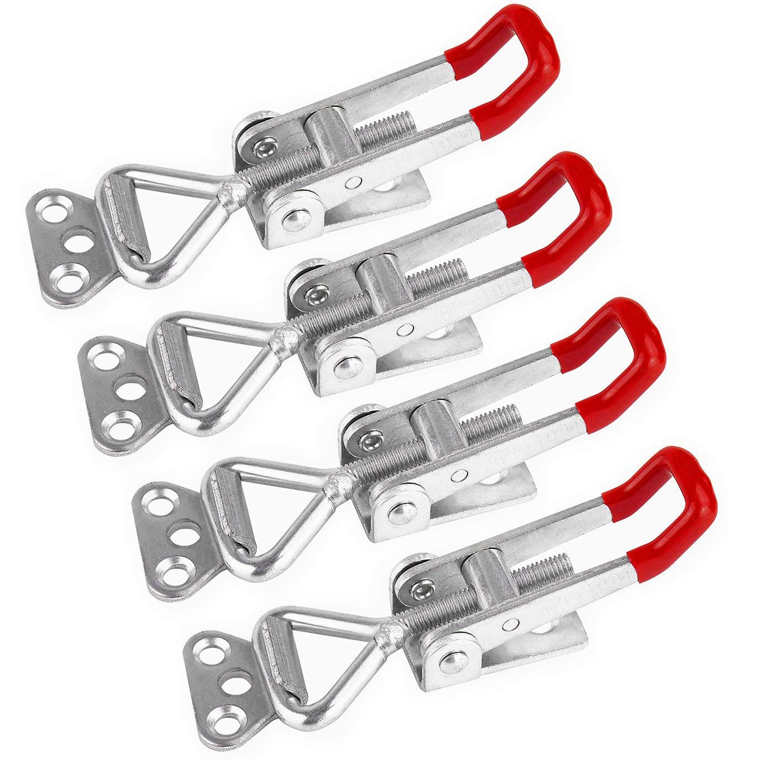Toolzone Hw039 8-44mm Stainless Steel Hose Clamps Clips Silver 35-piece