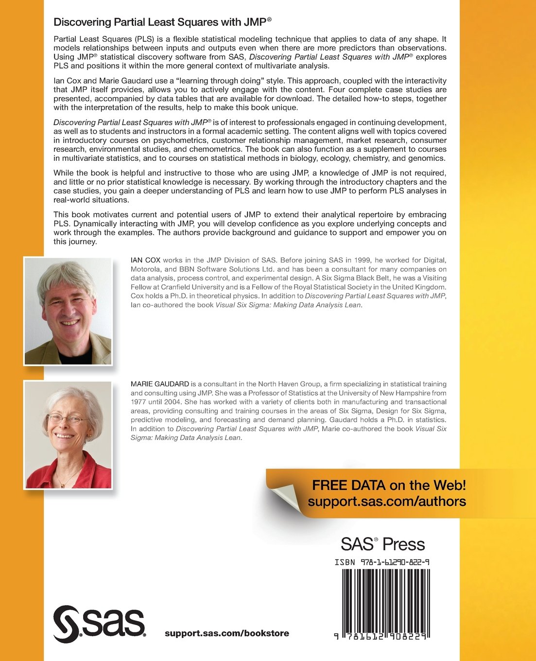 Discovering Partial Least Squares with JMP: Amazon.co.uk: Ian Cox, Marie  Gaudard: 9781612908229: Books