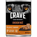 CRAVE High Protein Grain Free Paté Adult Wet Dog Food, Pack of 12 12.5 oz. cans