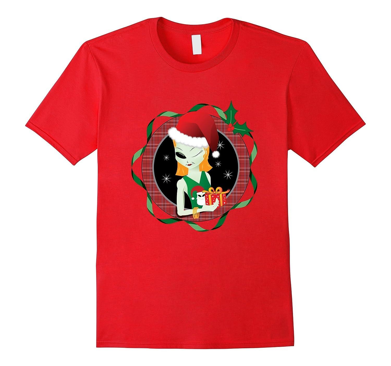 AleeAnn Christmas Tshirts MerryChristmas Tshirt-Art