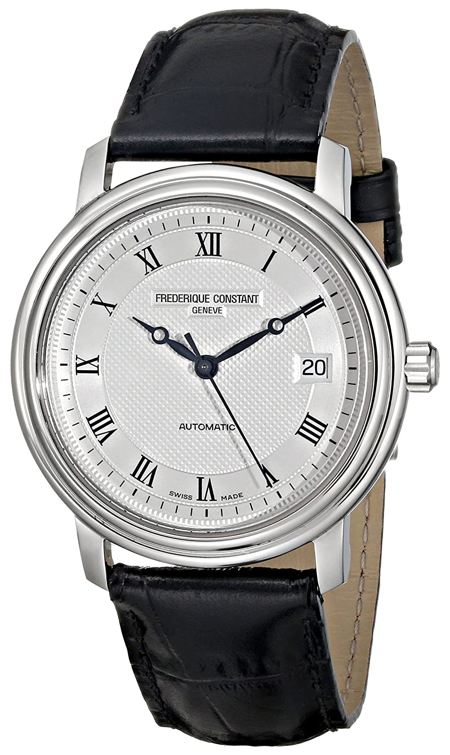 s silver watches watch constant frederique dial men fc classics