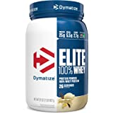 Dymatize Elite 100% Whey Protein Powder, 25g Protein, 5.5g BCAAs & 2.7g L-Leucine, Quick Absorbing & Fast Digesting for Optim