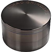 """LIHAO Pollen Grinder 3"""" groot 75mm Crusher voor specerijen, kruiden, koffie, kruid, 4-delige set met schraper (nikkel…"""