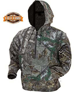 50f33afa69307 Frogg Toggs Dead Silence Brushed Camo Pullover Water-Resistant Rain Hoodie