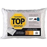 Travesseiro Top Para Fronhas Revestimento em Fibrasca Branco 50x70