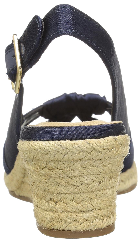Bella Vita Women's Seraphina Ii Espadrille Wedge Sandal B01NA7RMKC 6.5 W US|Navy Silk