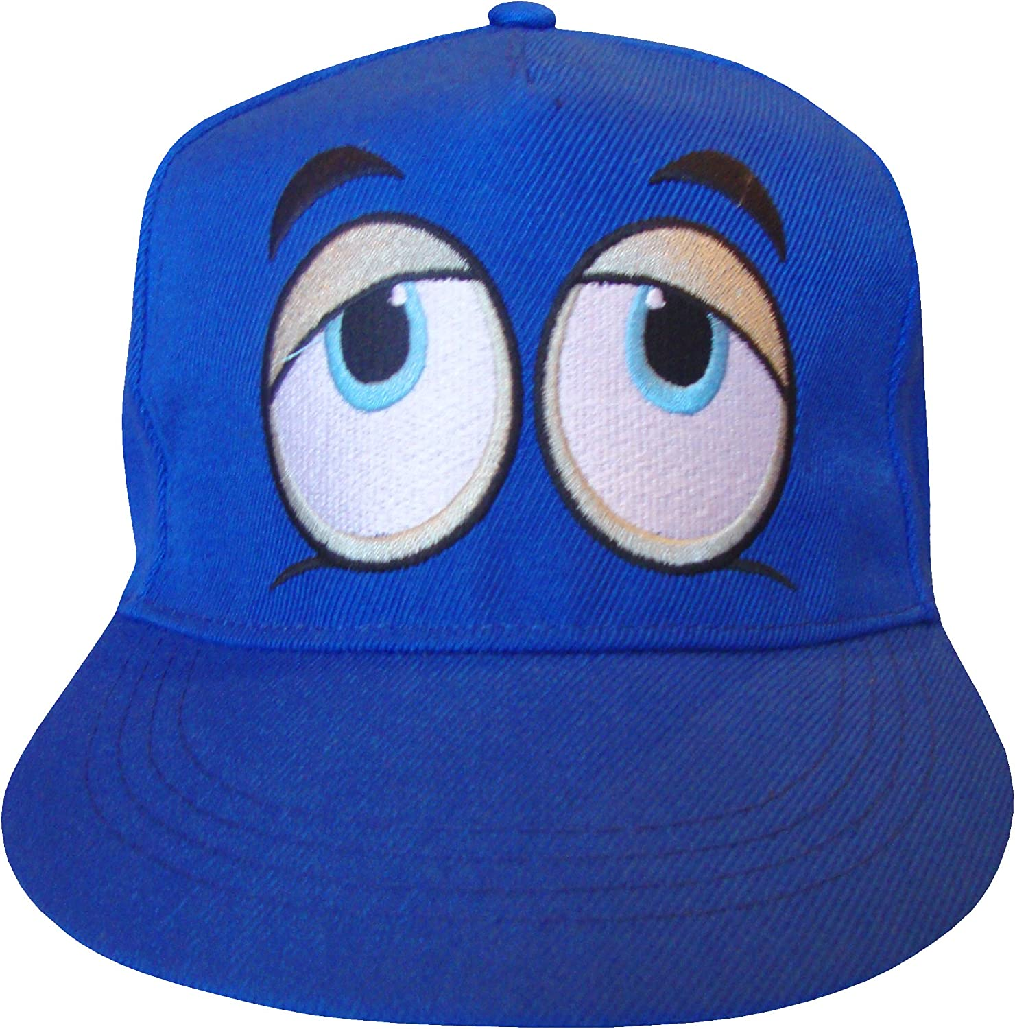 Teenagers Unisex Funky Eyes Design Summer Snapback Cap Hat
