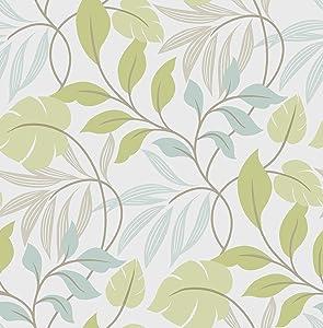NuWallpaper NU1657 Meadow Wallpaper, Green