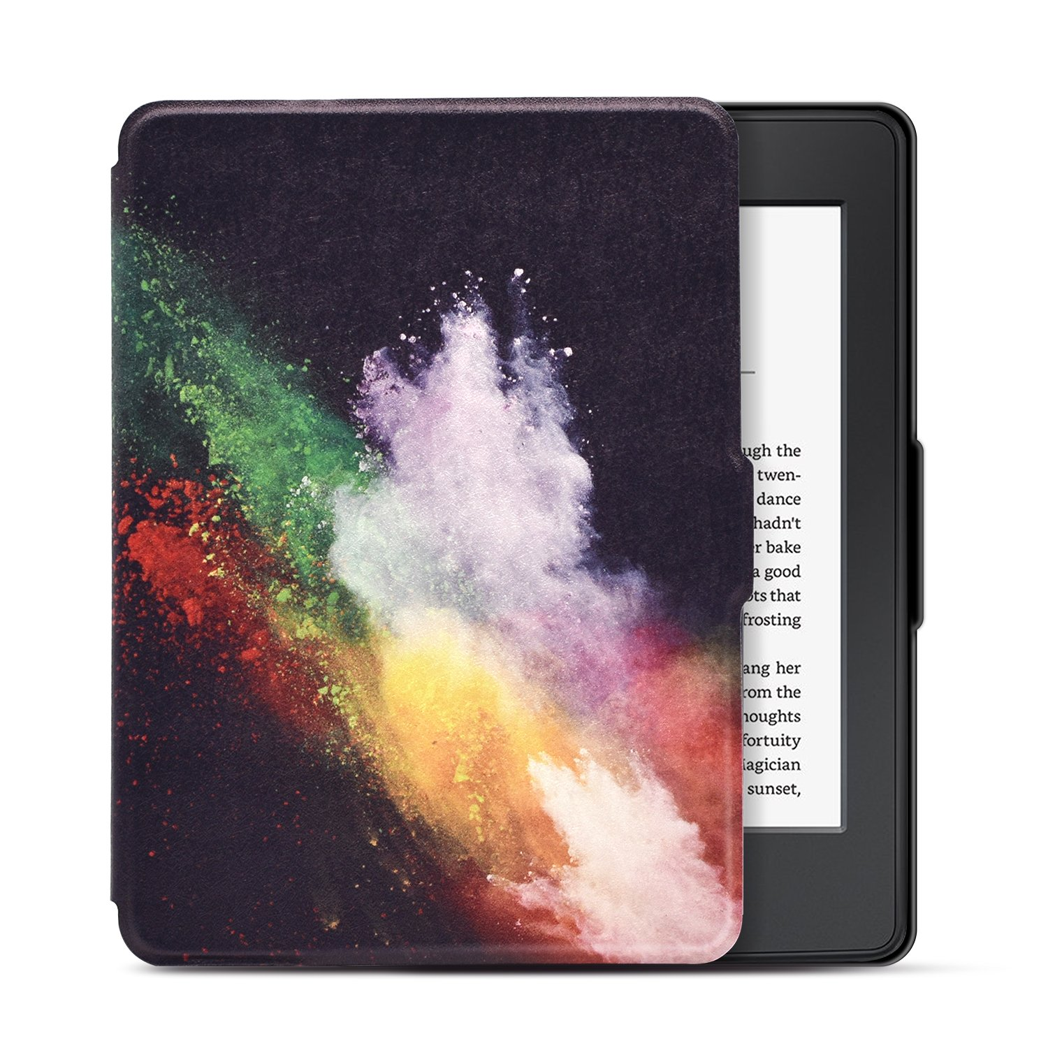 Dopup Case for Kindle Paperwhite, Slim and Light Smart Shell Cover for All-New Amazon Kindle Paperwhite, Folio Flip Style with Auto Sleep/Wake (Color Fun)