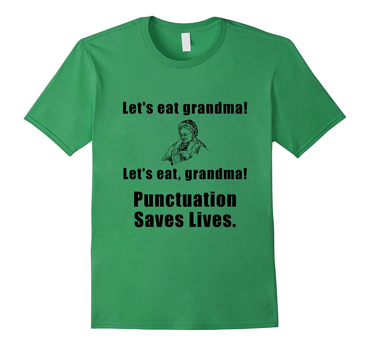 Punctuation Saves Lives T-Shirt-CL – Colamaga