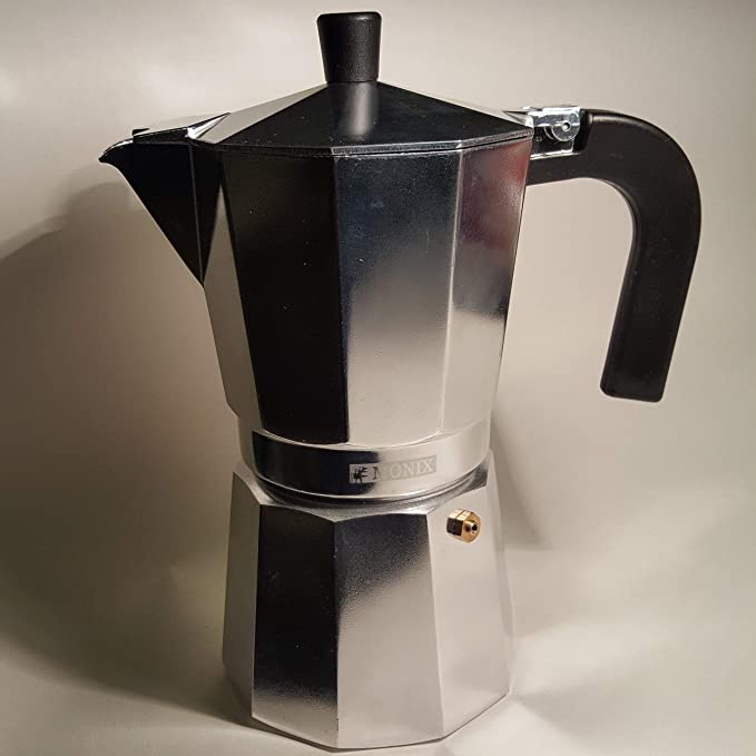 Monix M620006 Cafetera, Aluminio, Plata, 6 Tazas: Amazon.es: Hogar