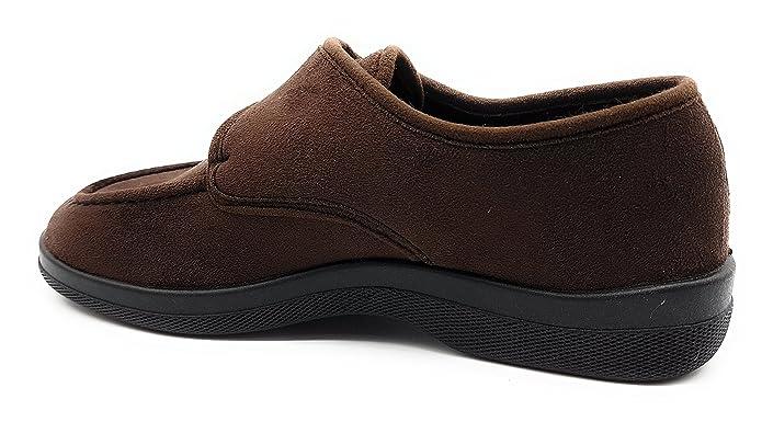 Sneaker Klett sehr empfindliche Füße Doctor Cutillas braun größe 40 aGbas