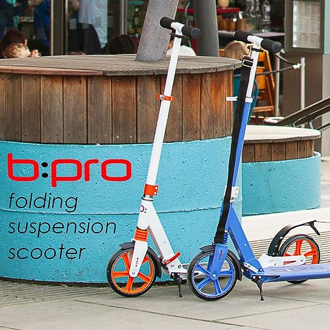 Bopster® B: Pro – Adulto Plegable suspensión – Patinete, Color ...