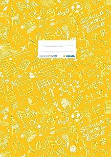 HERMA - HERMA Heftschoner 'Schoolydoo', DIN A4, aus PP, gelb