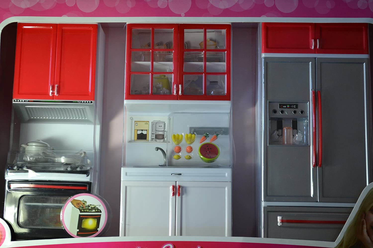 amazon com barbie sized dollhouse furniture modern comfort