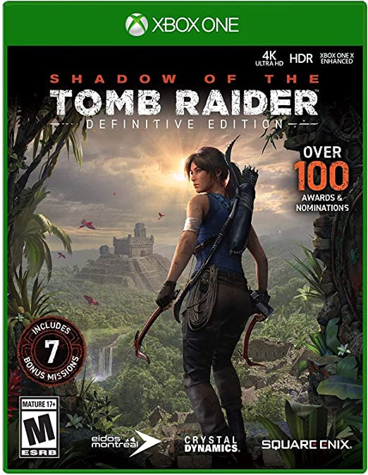 Shadow of The Tomb Raider: Definitive Edition for Xbox One USA ...