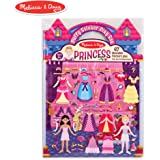 Melissa & Doug Puffy Sticker Set: Princess - 67 Reusable Stickers