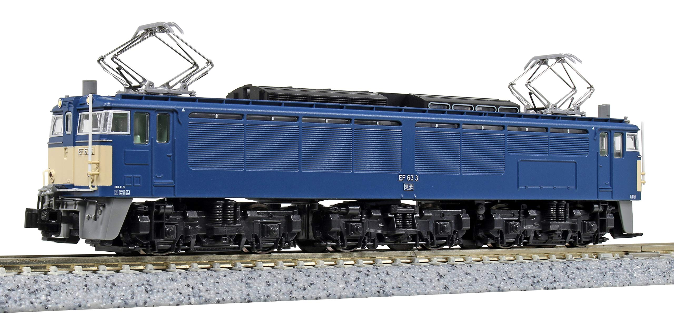 Kato 3085-1 Electric Locomotive EF63 1 Type N Scale 1/150