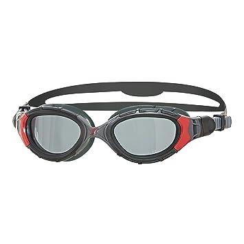ee65876e0 Zoggs Predator Flex Polarized Gafas de Natación, Unisex, Negro/Rojo/Gris,  Talla única: Amazon.es: Deportes y aire libre