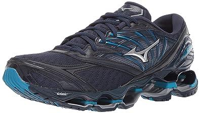 feffa08629af Mizuno Men's Wave Prophecy 8 Running Shoe, Blue Wing Teal-Silver 7 ...