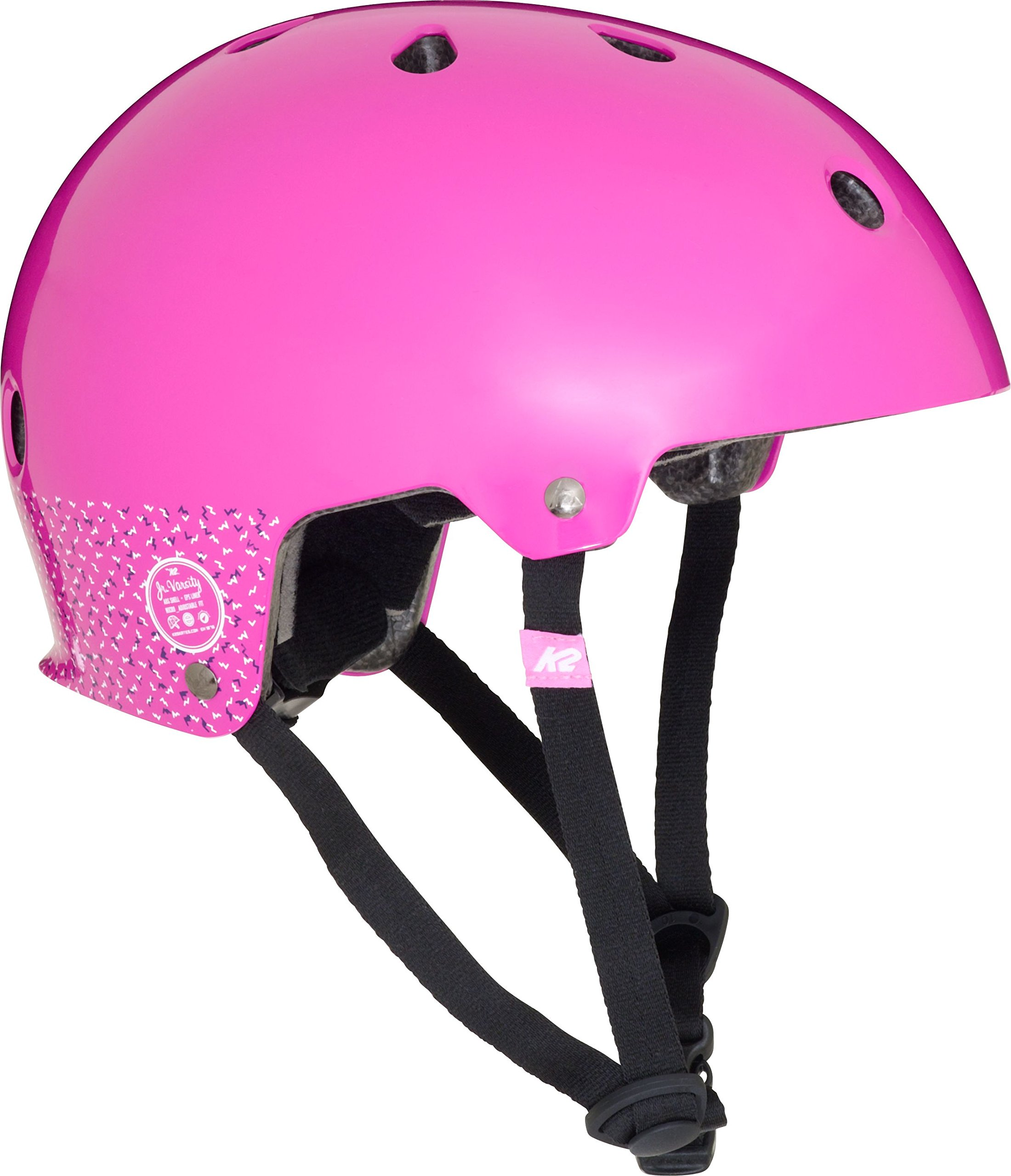 K2 Skate Jr Varsity Girls Helmet, Small, Purple by K2 Skate