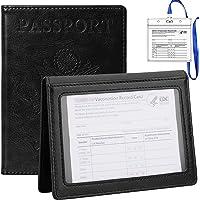 TIGARI Passport Wallets Passport Covers, Passport and Vaccine Card Holder Combo, Ultra Slim Passport Holder for Women…