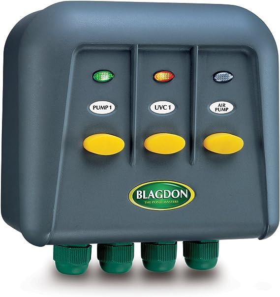 Caja de interruptores para exteriores Blagdon PowerSafe 3: Amazon ...