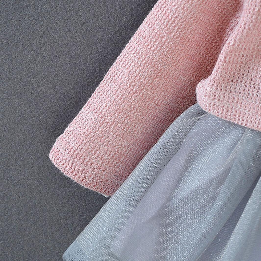 Ropa Bebe K-youth® Camiseta Tops de bebé niñas + Tutú Princesa Vestidos  Conjunto de trajes 0-18 meses 2edcf99c1c4a