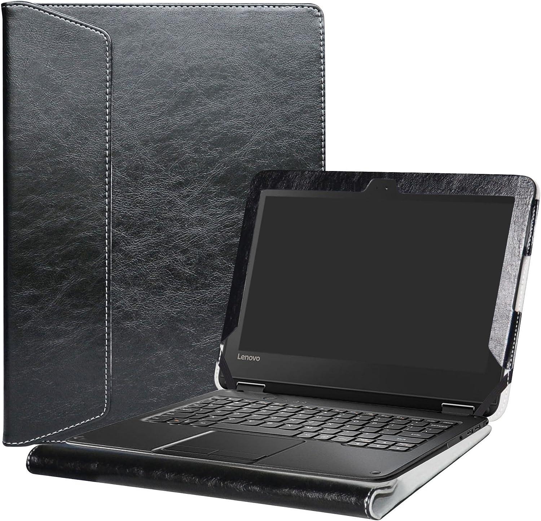 """Alapmk Protective Case Cover for 11.6"""" Lenovo N24 Windows & Lenovo N23 Windows/Lenovo 300e Windows Laptop(Warning:Not fit Lenovo N23 Chromebook/N23 Yoga Chromebook/Lenovo 300e Chromebook),Black"""