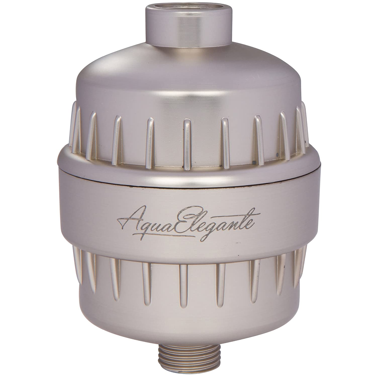 Aqua Elegante High Output Luxury Shower Filter - Best Chlorine Removing Filtration System & Cartridge - Chrome Holekamp Products LLC COMIN16JU035750