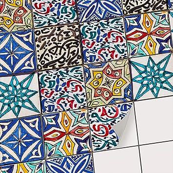 Fantastisch Fliesenmuster Deko Folie Fliesen Wandaufkleber | Fliesen Folie Sticker  Aufkleber Selbstklebend   Deko Badezimmer