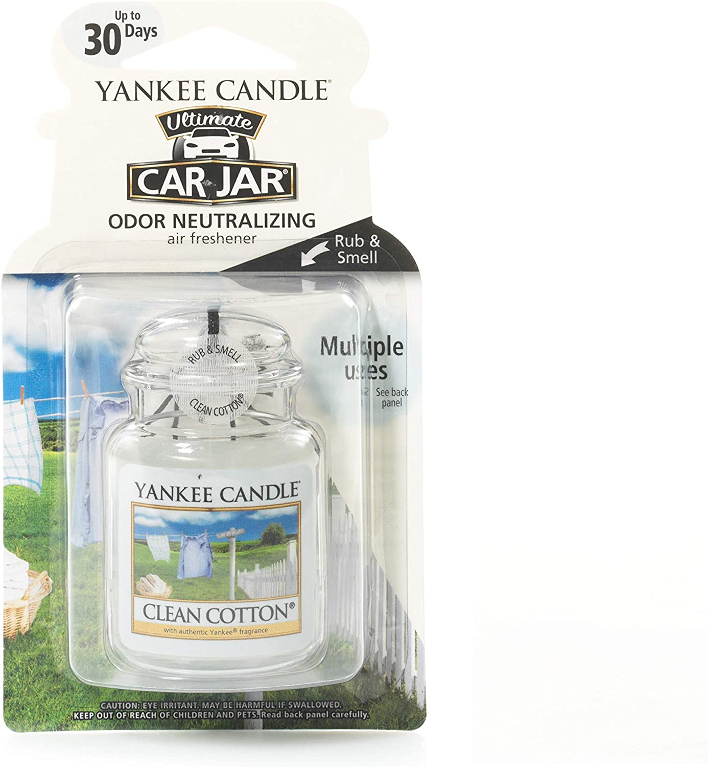 "4er-Packung wei/ß Yankee Candle /""Clean Cotton/"" Vent Sticks"