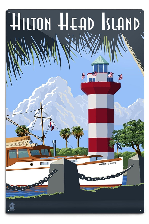 【新作からSALEアイテム等お得な商品満載】 Hilton Coffee Head 18 Island、SC – Harbour Town灯台 12 x Island、SC 18 Metal Sign LANT-42460-12x18M B074RZLQ1S 8oz Coffee Bag 8oz Coffee Bag, 佐賀県:c835872e --- mcrisartesanato.com.br
