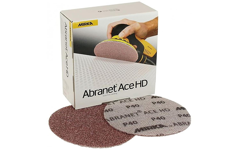 Mirka AH-241-040 Abranet Ace HD Net Grip Disc