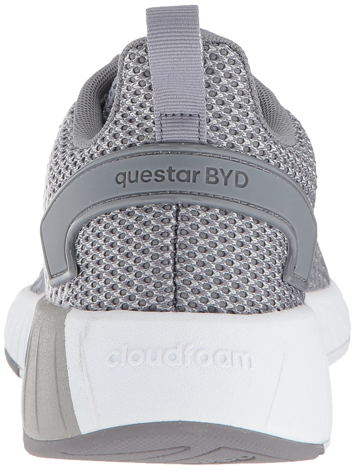 save off a2fb5 c13a6 Amazon.com  adidas Mens Questar Byd, WhiteWhiteGrey Two, 10.5 M US   Shoes
